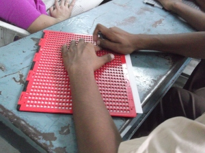 The Braille Board