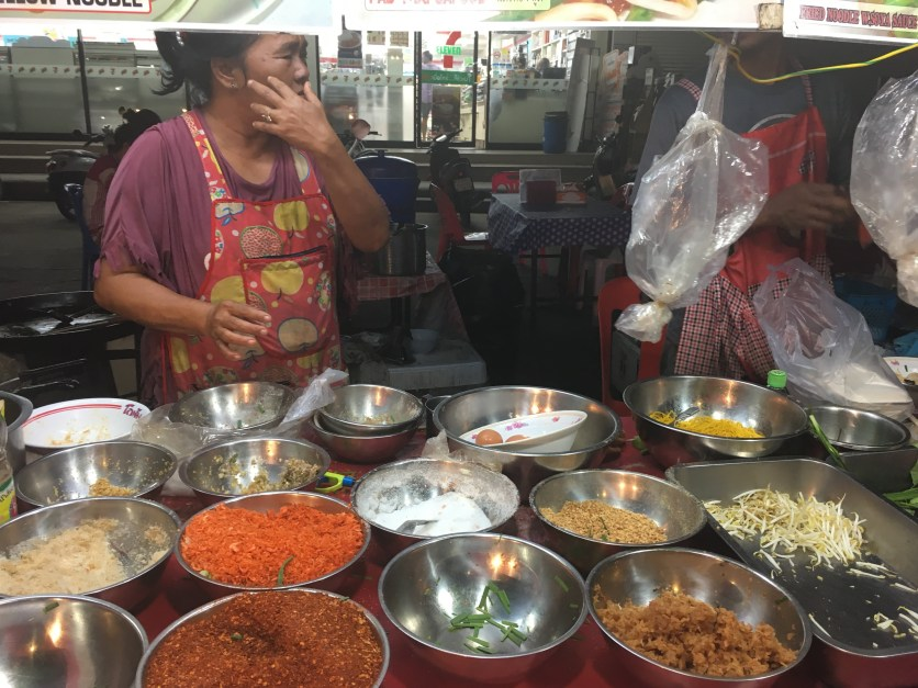 Street food in Koh Tao